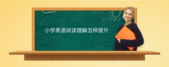 小学英语阅读理解怎样提升