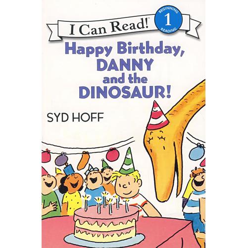 《生日快乐,丹尼和恐龙》绘本简介
