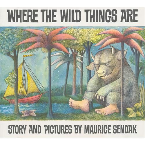 《Where The Wild Things Are 野兽出没的地方》绘本简介