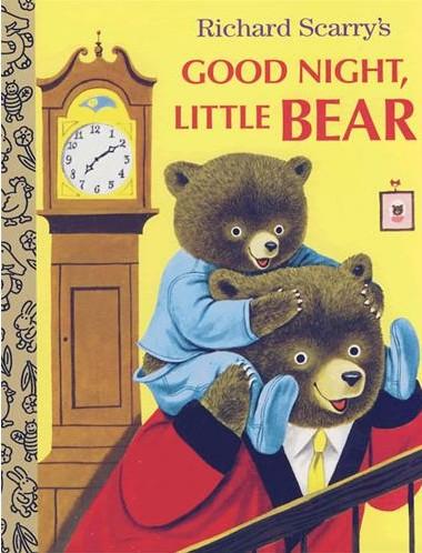 《GOOD NIGHT, LITTLE BEAR 晚安,小熊》绘本简介