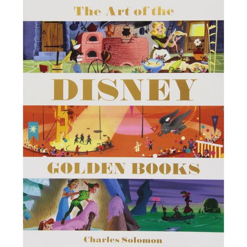 《The Art of the Disney Golden Books》绘本简介
