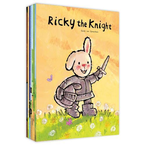 《Ricky Series Collection 折耳兔奇奇好棒系列》绘本简介