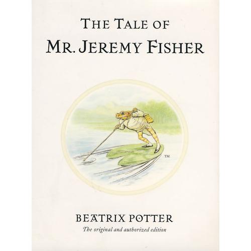 《杰里米.费希尔先生的故事 THE TALE OF MR.JEREMY FISHER》绘本简介