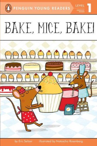 《Bake,Mice, Bake!烤蛋糕的小老鼠》绘本简介