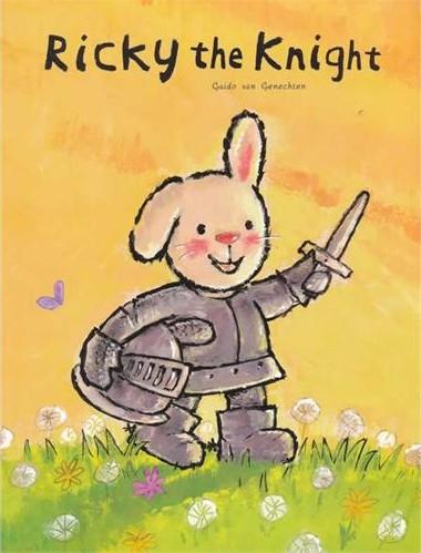 《Ricky the Knight 折耳兔奇奇好棒系列:橡树下的秘密》绘本简介