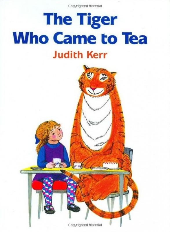 《 Twinkles, Arthur and Puss和老虎喝下午茶》绘本简介