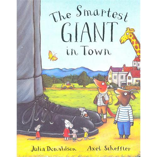 《Smartest Giant in Town 城里最漂亮的巨人》绘本简介