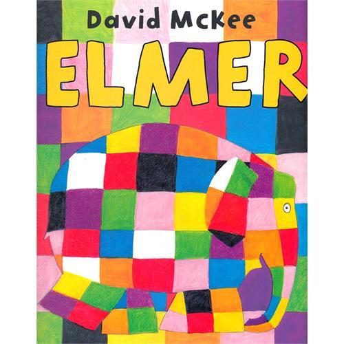 《Elmer 花格子大象艾玛》绘本简介
