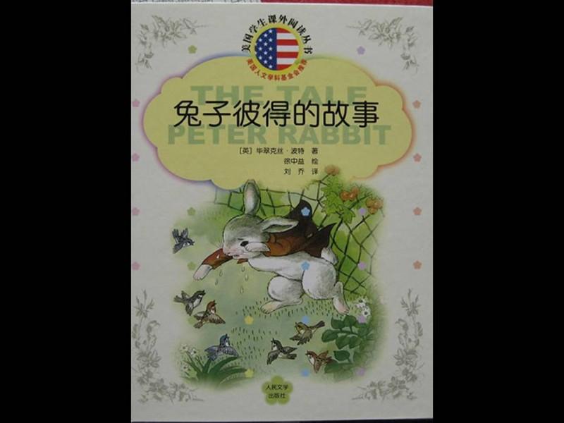《兔子彼得的故事》绘本简介