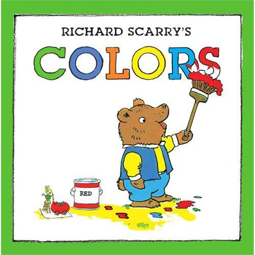 《Richard Scarry's Colors斯凯瑞童书-颜色》绘本简介