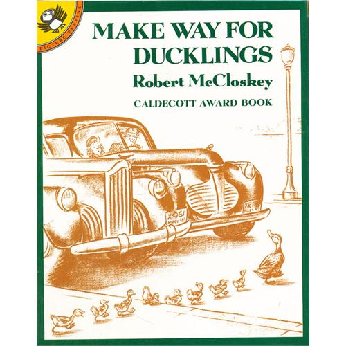 《Make Way for Ducklings 给小鸭子让路》绘本简介