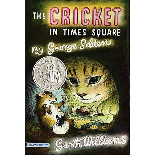 《Cricket in Times Square 时代广场的蟋蟀》绘本简介