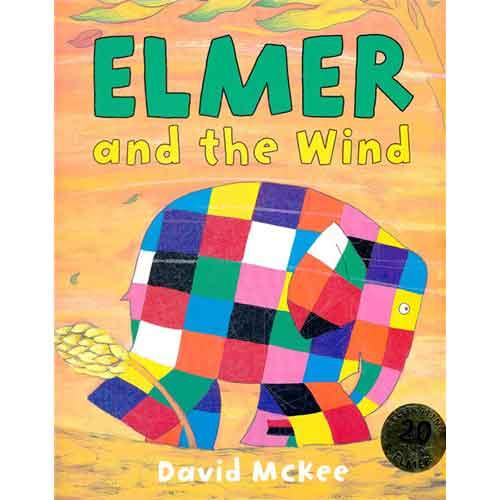 《Elmer and the Wind 艾玛与风》绘本简介