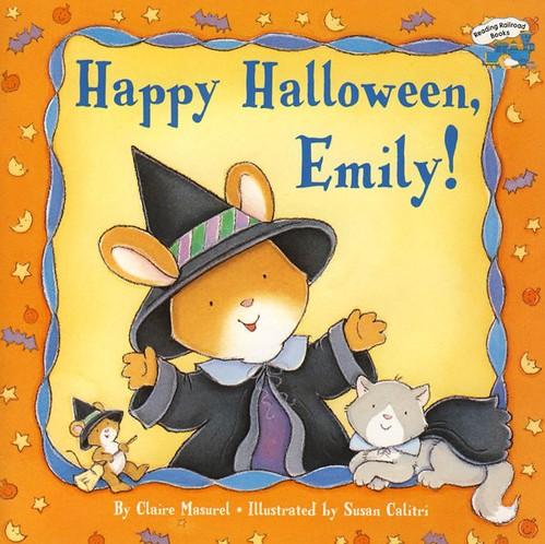 《Happy Halloween Emily!》绘本简介