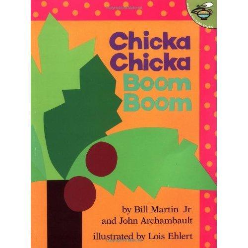 《Chicka Chicka Boom Boom 叽喀叽喀碰碰》绘本简介