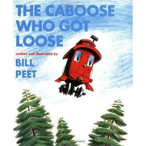 《The Caboose Who Got Loose 逃跑的小车厢》绘本简介