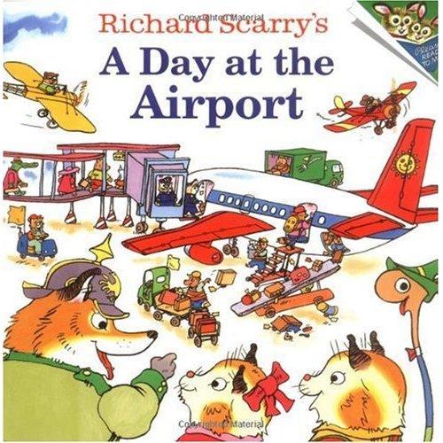 《A Day at the Airport斯凯瑞童书-飞机场的一天》绘本简介