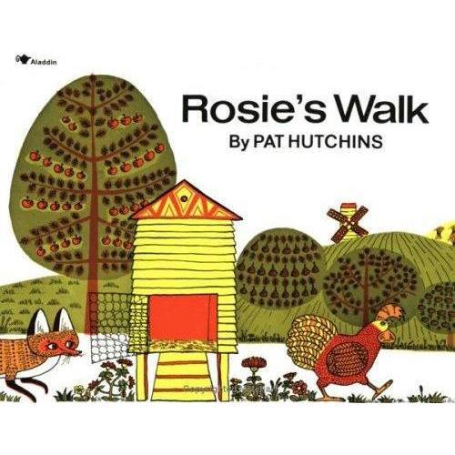 《Rosie's Walk-母鸡萝丝去散步》绘本简介