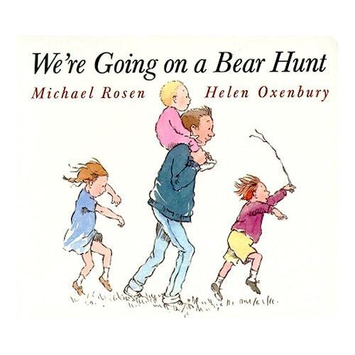 《We're Going on a Bear Hunt  和爸爸去猎熊》绘本简介