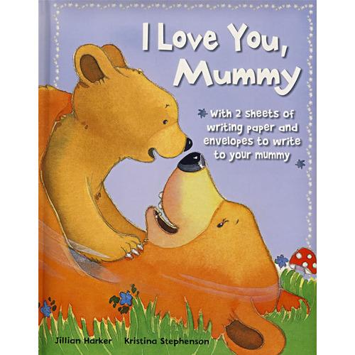 《我爱你妈妈1 Love you Mummy》绘本简介
