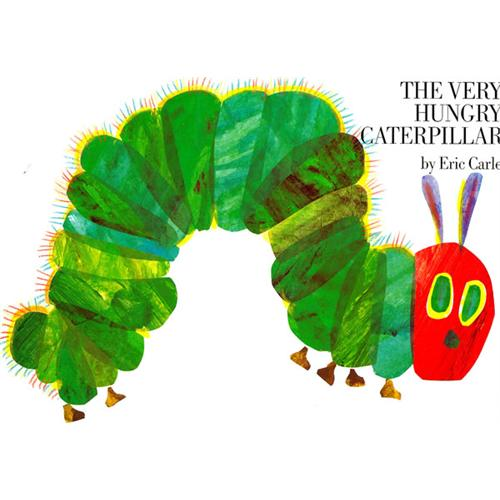 《The Very Hungry Caterpillar》绘本简介