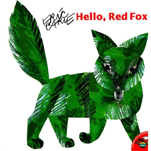 《Hello, Red Fox》绘本简介