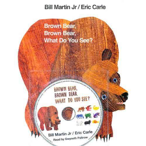 《Brown Bear, Brown Bear 棕熊、棕熊,你看到了什么?》绘本简介