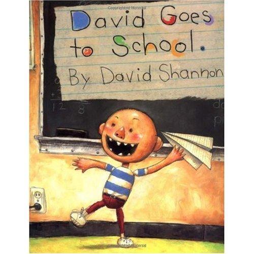 《David Goes to School 大卫去上学》绘本简介
