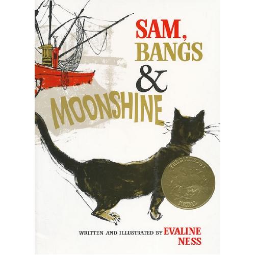 《Sam,Bangs,Moonshine 莎莎的月光》绘本简介